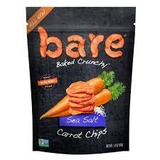 Bare Sea Salt Carrot Chips, 1.4 oz.