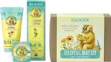 Badger Balm Essentials Baby Set, 3 piece
