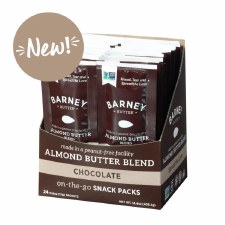Barney Butter Almond Chocolate Spread, .6 oz.