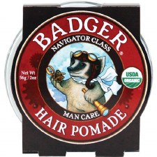 Badger Balm Hair Pomade, 2 oz.