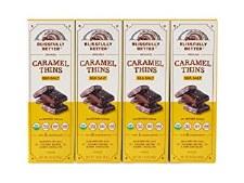 Blissfully Better Organic Sea Salt Caramel Thins, 1.6 oz.