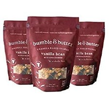 Bumble & Butter Vanilla Bean Granola, 8 oz.