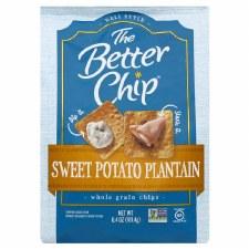 The Better Chip Sweet Potato Plantain Whole Grain Chips, 6.4 oz.