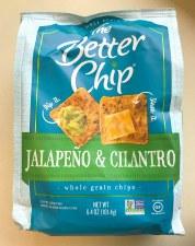The Better Chip Jalapeno & Cilantro Whole Grain Chips, 6.4 oz.