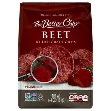 The Better Chip Beet Whole Grain Chip, 6.4 oz.