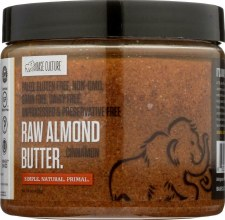 Base Culture Cinnamon Raw Almond Butter, 16 oz.