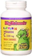 Natural Factors Big Friends Multi-Vitamin, 60 count