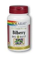 Solaray Bilberry Extract Daily 160 mg 30 capsules