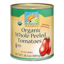 Bionaturae Organic Whole Peeled Tomatoes, 28.2 oz.