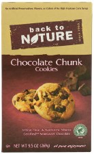 Back To Nature Chocolate Chunk Cookies, 9.5 oz.