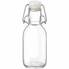 Bormioli Rocco Swing Cap Glass Bottle, 8.5 oz.