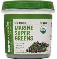 Bare Organics Marine Supergreens, 8 oz.
