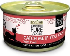 Canidae Pure Adore Catch Me If You Can with Crab Cat & Kitten Food, 3 oz.