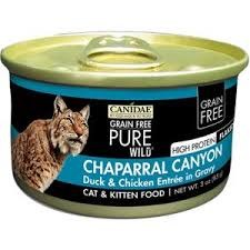 Canidae Chaparral Canyon Cat & Kitten Food, 3 oz.