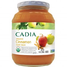 Cadia Organic Cinnamon Apple Sauce, 24 oz.