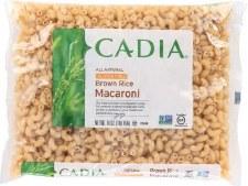 Cadia All Natural Gluten Free Brown Rice Elbow Macaroni, 16 oz.