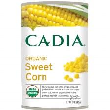 Cadia Organic Sweet Corn, 15.25 oz.