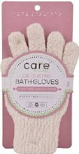 Care By Clean Logic Exfoliating Bath Glove, 1 each