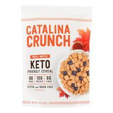 Catalina Crunch Keto Maple Waffle Cereal, 9 oz.