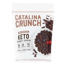 Catalina Crunch Keto Dark Chocolate Cereal, 9 oz.