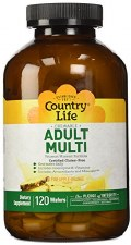Country Life Adult Multi, 120 wafers
