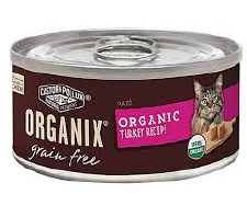 Castor & Pollux Organix Grain Free Organic Turkey Recipe, 5.5 oz.