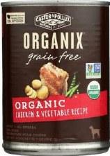 Castor & Pollux Organix Grain Free Organic Chicken & Vegetable Recipe, 12.7 oz.