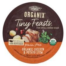 Castor & Pollux Tiny Feasts Organic Chicken & Potato Stew, 3.5 oz.