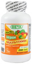 DEVA Vegan Multivitamin, 90 tablets