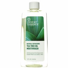 Desert Essence Tea Tree Oil Mouthwash, 8 oz.