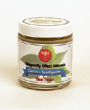 Dragonfly Effect Naturals Tea Tree Detox Toothpaste, 4 oz.