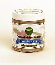 Dragonfly Effect Naturals Wintergreen Detox Toothpaste, 4 oz.