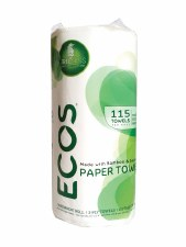 Earth Friendly ECOS Paper Towels, 115 sheets