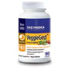Enzymedica VeggieGest, 90 capsules