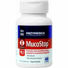 Enzymedica MucoStop, 24 vegan capsules