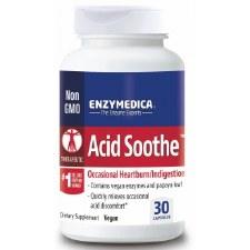 Enzymedica Acid Soothe, 30 vegan capsules