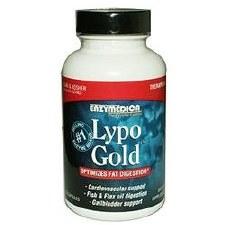 Enzymedica Lypo Gold, 120 vegan capsules