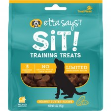 Etta Says! Sit! Training Treats Peanut Butter Recipe, 6 oz.