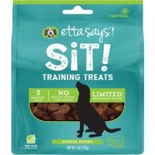 Etta Says! Sit! Training Treats Cheese Recipe, 6 oz.
