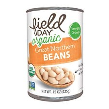 Field Day Organic Great Northern Beans, 15 oz.