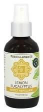Four Elements Lemon Eucalyptus Insect Repellant, 4 oz.
