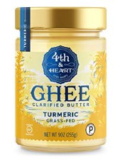 4th & Heart Turmeric Ghee, 9 oz.