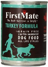 First Mate Turkey Formula Grain Free Limited Ingredient Dog Food, 12.2 oz.