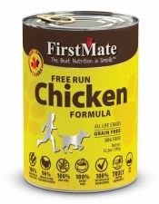First Mate Free Run Chicken Formula All Life Stages Grain Free Dog Food, 12.5 oz.