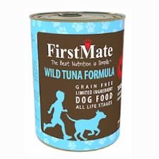 First Mate Wild Tuna Formula Grain Free Limited Ingredient Dog Food, 12.5 oz.