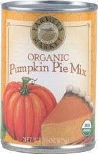 Farmer's Market Organic Pumpkin Pie Mix, 15 oz.