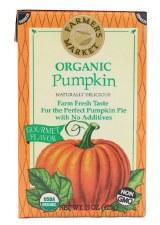 Farmer's Market Organic Pumpkin Puree, 16 oz.