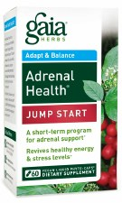 Gaia Herbs Adrenal Health Jump Start, 60 vegan liquid phyto-caps