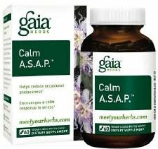 Gaia Herbs Calm A. S. A. P., 60 vegetarian capsules