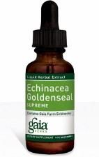 Gaia Herbs Echinacea Goldenseal Supreme, 4 oz.